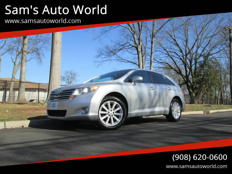 2012 Toyota Venza for sale at Sam's Auto World in Roselle NJ