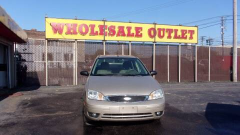 2006 Ford Focus for sale at LONG BROTHERS CAR COMPANY in Cleveland OH