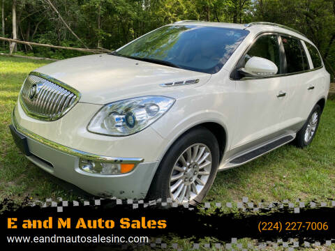 2011 Buick Enclave for sale at E and M Auto Sales in Elgin IL