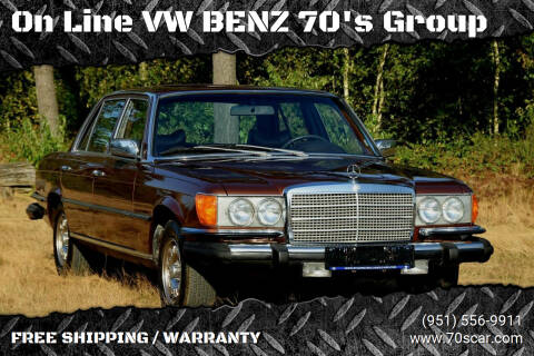 1979 Mercedes-Benz 300-Class for sale at On Line VW BENZ 70's Group in Warehouse CA