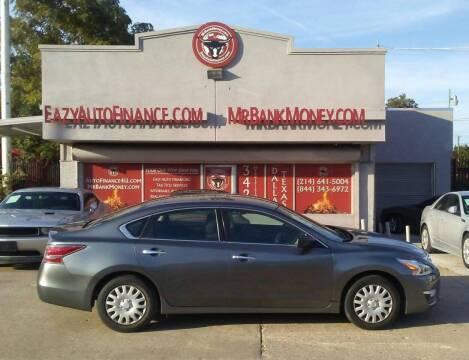 2014 Nissan Altima for sale at Eazy Auto Finance in Dallas TX