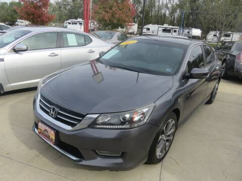 2013 Honda Accord for sale at Azteca Auto Sales LLC in Des Moines IA