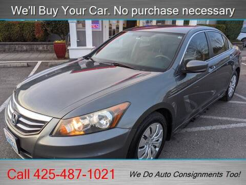 2011 Honda Accord for sale at Platinum Autos in Woodinville WA
