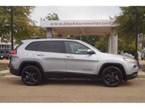 2018 Jeep Cherokee for sale at BLACKBURN MOTOR CO in Vicksburg MS