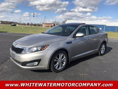 2012 Kia Optima for sale at WHITEWATER MOTOR CO in Milan IN
