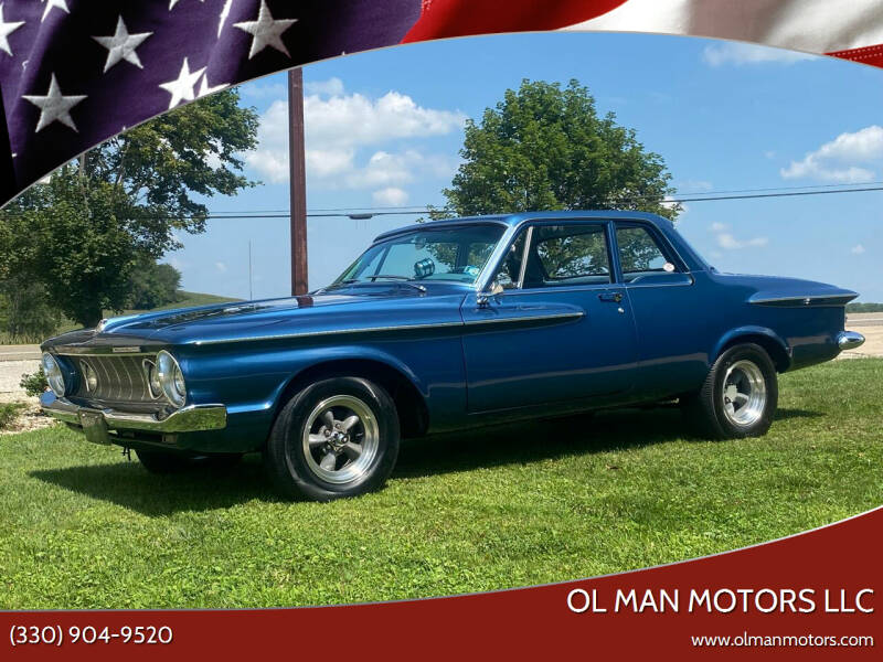 1962 Plymouth Savoy for sale at Ol Man Motors LLC in Louisville OH