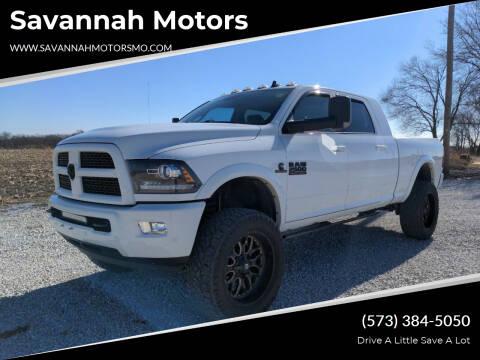 2017 RAM Ram Pickup 2500 for sale at Savannah Motors in Elsberry MO