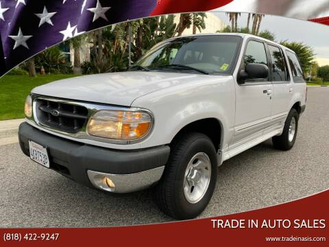 2000 Ford Explorer for sale at Trade In Auto Sales in Van Nuys CA