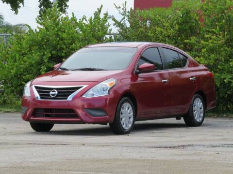 2017 Nissan Versa for sale at DK Auto Sales in Hollywood FL