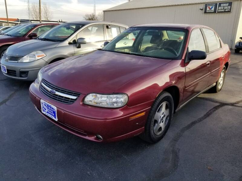 2003 Chevrolet Malibu for sale at Larry Schaaf Auto Sales in Saint Marys OH
