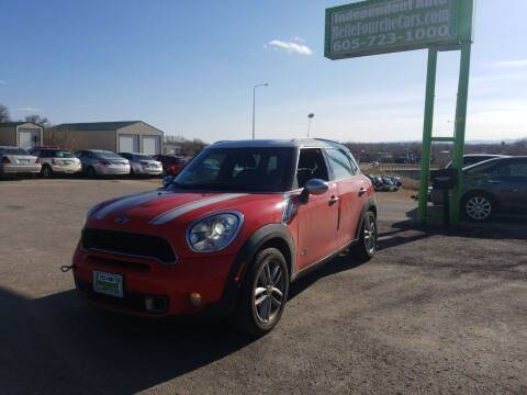 2012 MINI Cooper Countryman for sale at Independent Auto in Belle Fourche SD