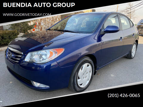 2010 Hyundai Elantra for sale at BUENDIA AUTO GROUP in Hasbrouck Heights NJ