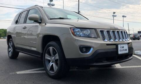 2017 Jeep Compass for sale at Car Culture in Warren OH