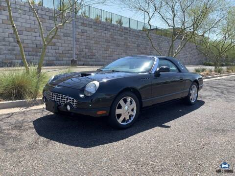 2002 Ford Thunderbird for sale at AUTO HOUSE TEMPE in Tempe AZ
