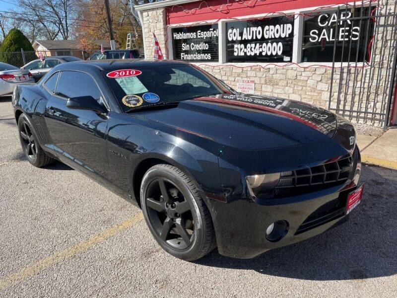2010 Chevrolet Camaro for sale at GOL Auto Group in Austin TX