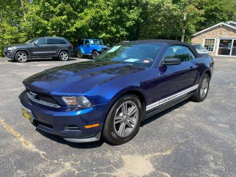 2012 Ford Mustang for sale at Bladecki Auto in Belmont NH