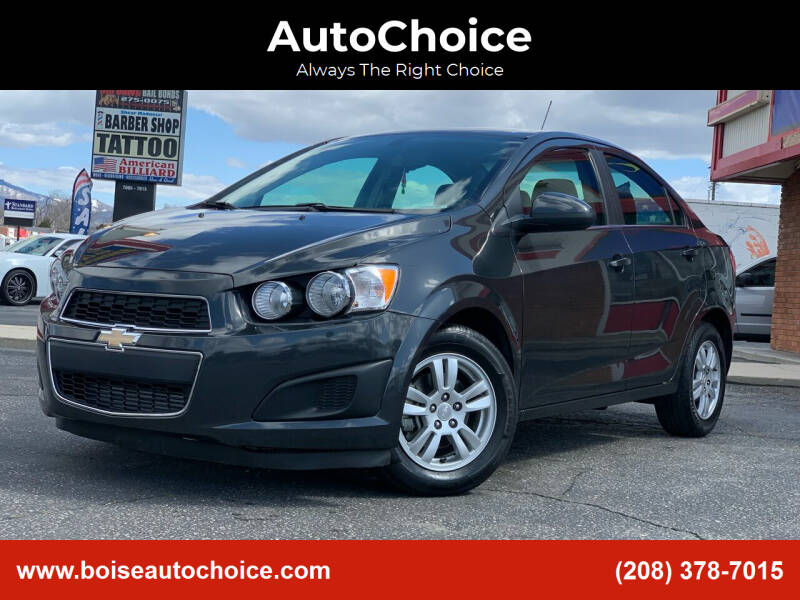 2015 Chevrolet Sonic for sale at AutoChoice in Boise ID