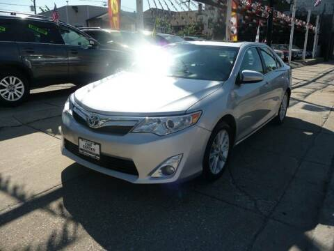 2013 Toyota Camry Hybrid for sale at CAR CENTER INC in Chicago IL