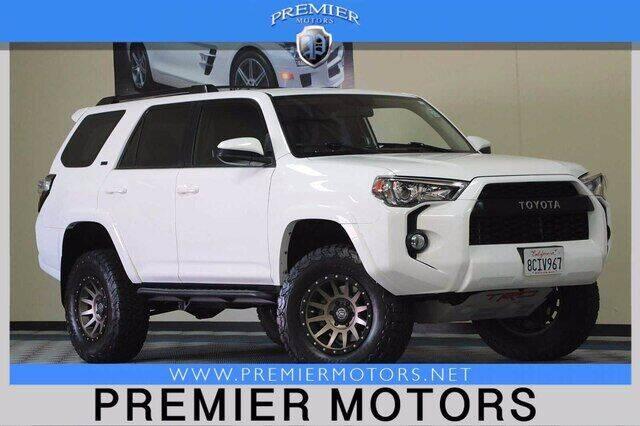 2018 Toyota 4Runner for sale at Premier Motors in Hayward CA