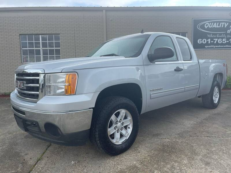 2013 GMC Sierra 1500 for sale at Quality Auto of Collins in Collins MS