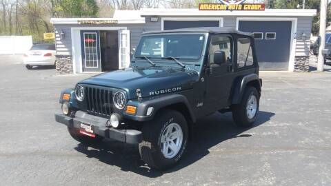 2006 Jeep Wrangler for sale at American Auto Group, LLC in Hanover PA