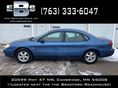 2004 Ford Taurus for sale at East Bradford Sales, Inc in Cambridge MN