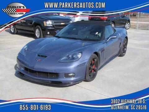 2013 Chevrolet Corvette for sale at Parker's Used Cars in Blenheim SC