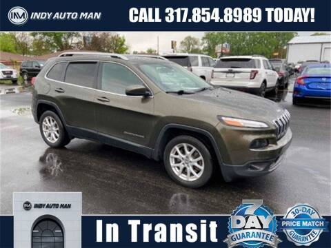 2015 Jeep Cherokee for sale at INDY AUTO MAN in Indianapolis IN