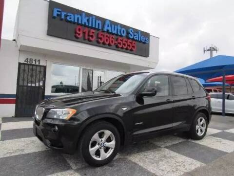 2011 BMW X3 for sale at Franklin Auto Sales in El Paso TX