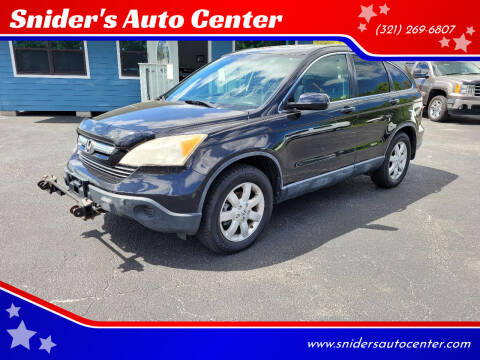 2007 Honda CR-V for sale at Snider's Auto Center in Titusville FL