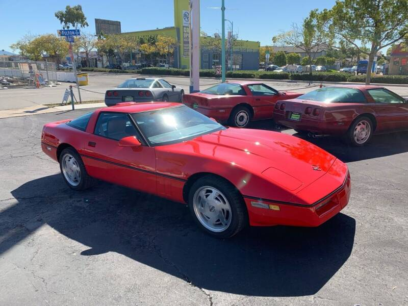 1989 Chevrolet Corvette for sale at Corvette Specialty by Dave Meyer in San Diego CA