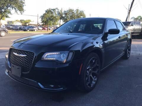 2015 Chrysler 300 for sale at Texas Luxury Auto in Houston TX