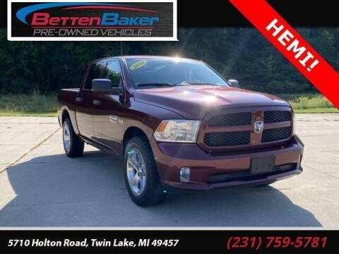 2018 RAM Ram Pickup 1500 for sale at Betten Baker Preowned Center in Twin Lake MI