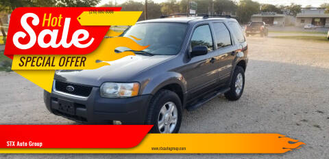 2003 Ford Escape for sale at STX Auto Group in San Antonio TX