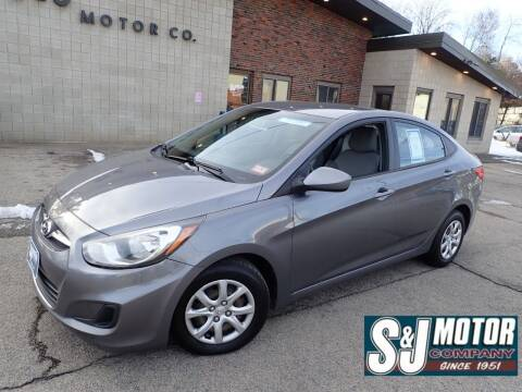 2013 Hyundai Accent for sale at S & J Motor Co Inc. in Merrimack NH