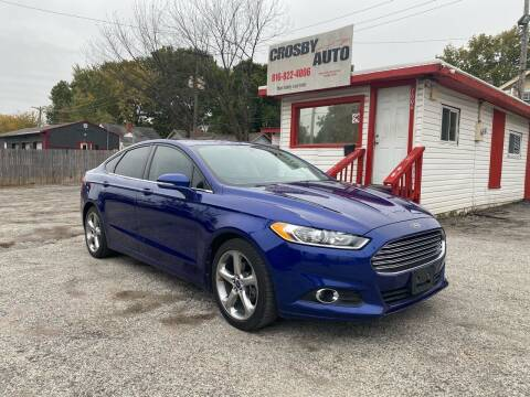 2013 Ford Fusion for sale at Crosby Auto LLC in Kansas City MO