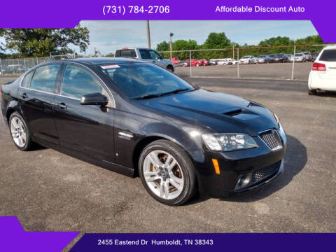 2009 Pontiac G8 for sale at AFFORDABLE DISCOUNT AUTO in Humboldt TN