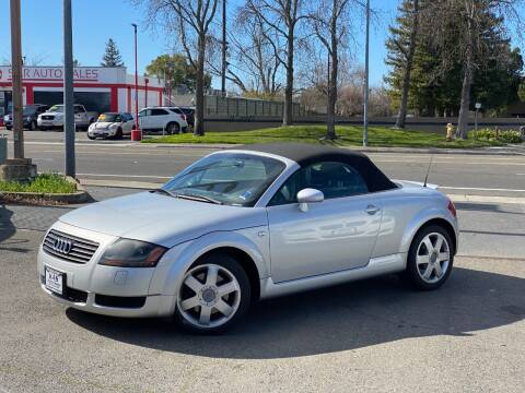 2002 Audi TT for sale at KAS Auto Sales in Sacramento CA