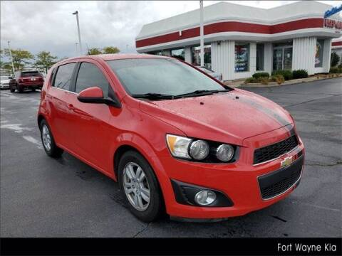 2012 Chevrolet Sonic for sale at BOB ROHRMAN FORT WAYNE TOYOTA in Fort Wayne IN