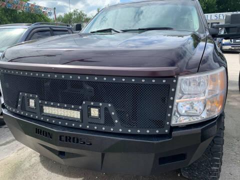 2008 Chevrolet Silverado 1500 for sale at BULLSEYE MOTORS INC in New Braunfels TX