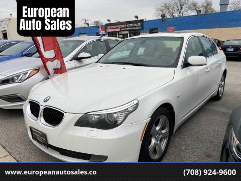 2008 BMW 5 Series for sale at European Auto Sales in Bridgeview IL