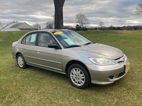 2005 Honda Civic for sale at Good Value Cars Inc in Norristown PA