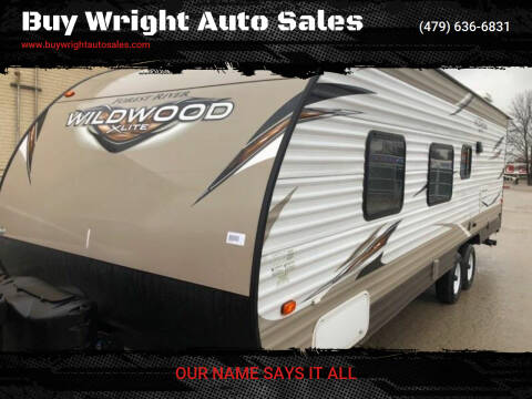 2018 Forest River Wildwood for sale at Buy Wright Auto Sales in Rogers AR