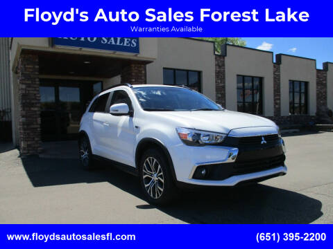 2017 Mitsubishi Outlander Sport for sale at Floyd's Auto Sales Forest Lake in Forest Lake MN