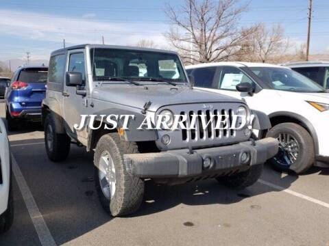 2015 Jeep Wrangler for sale at EMPIRE LAKEWOOD NISSAN in Lakewood CO