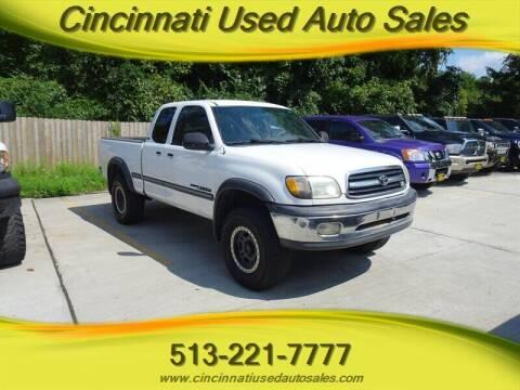 2001 Toyota Tundra for sale at Cincinnati Used Auto Sales in Cincinnati OH