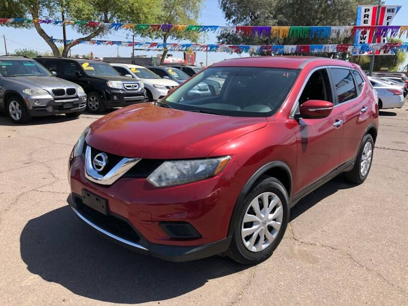 2015 Nissan Rogue for sale at Valley Auto Center in Phoenix AZ