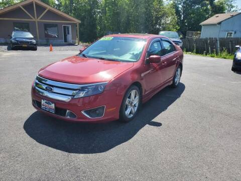 2010 Ford Fusion for sale at Excellent Autos in Amsterdam NY