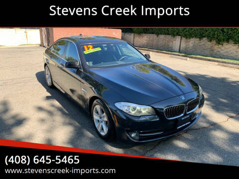 2012 BMW 5 Series for sale at Stevens Creek Imports in San Jose CA