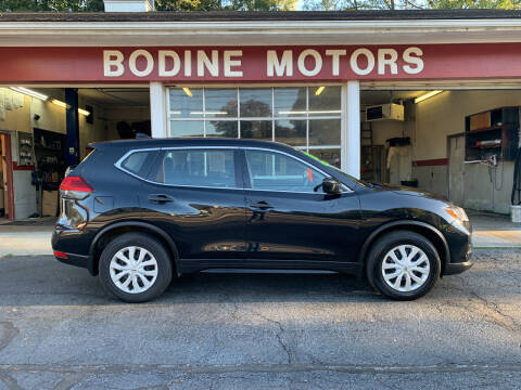 2017 Nissan Rogue for sale at BODINE MOTORS in Waverly NY
